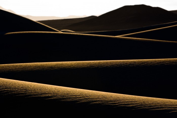 Dune Layers - Death Valley National Park, California - December 2007