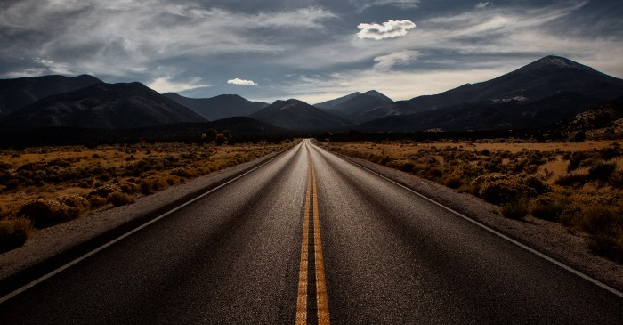 Highway 488 - Great Basin National Park - October 2011
