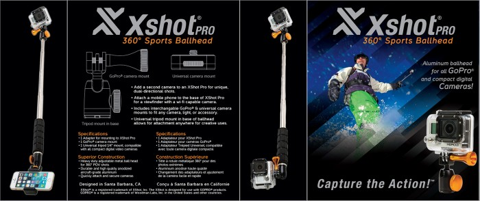 X-Shot Sports Ballhead Packaging