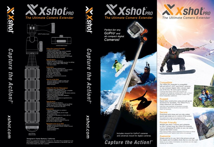X-Shot Pro Camera Extender Packaging